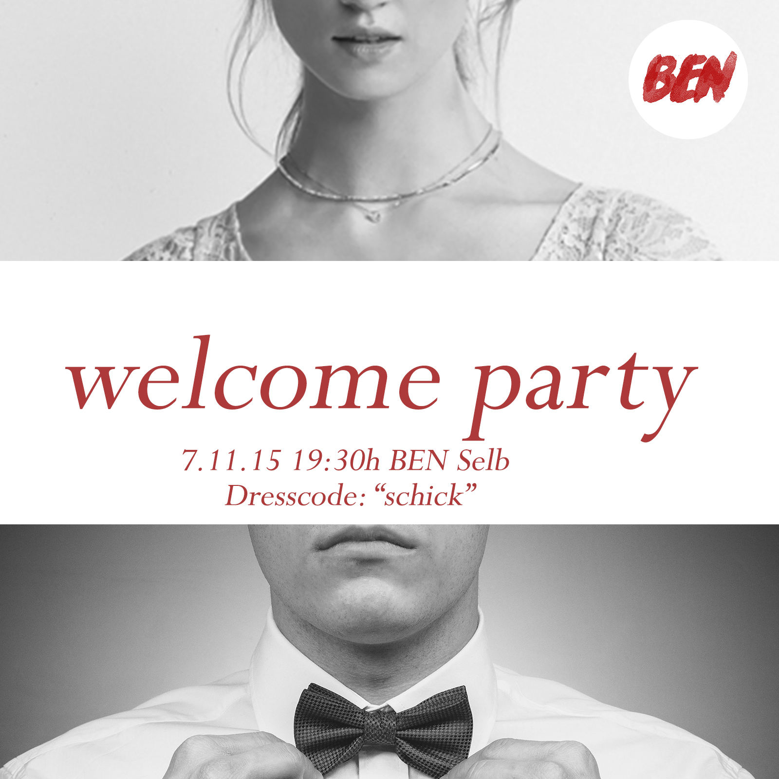 Welcome Party Flayer