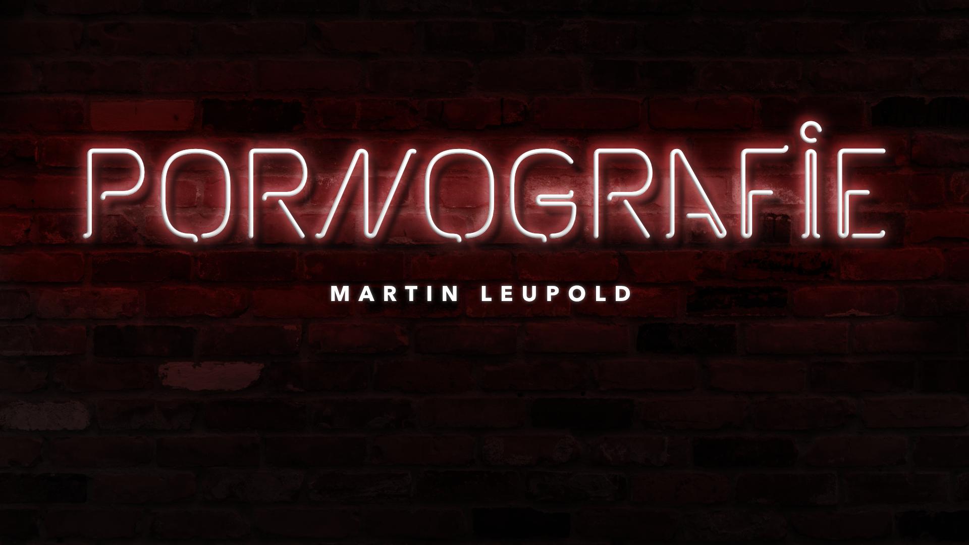 Pornographievortrag von Martin Leupold